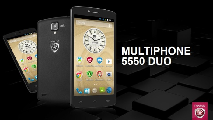 Watching video streams in HD quality, and playing online games are simple tasks for the powerful processor of the Multiphone 5550 DUO
